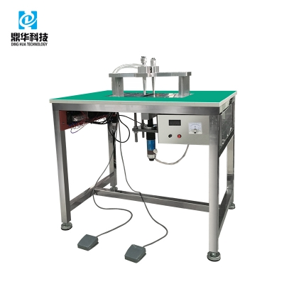 Double-head earloop welding machine